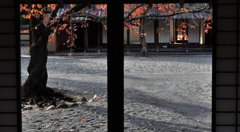 文武学校の中庭