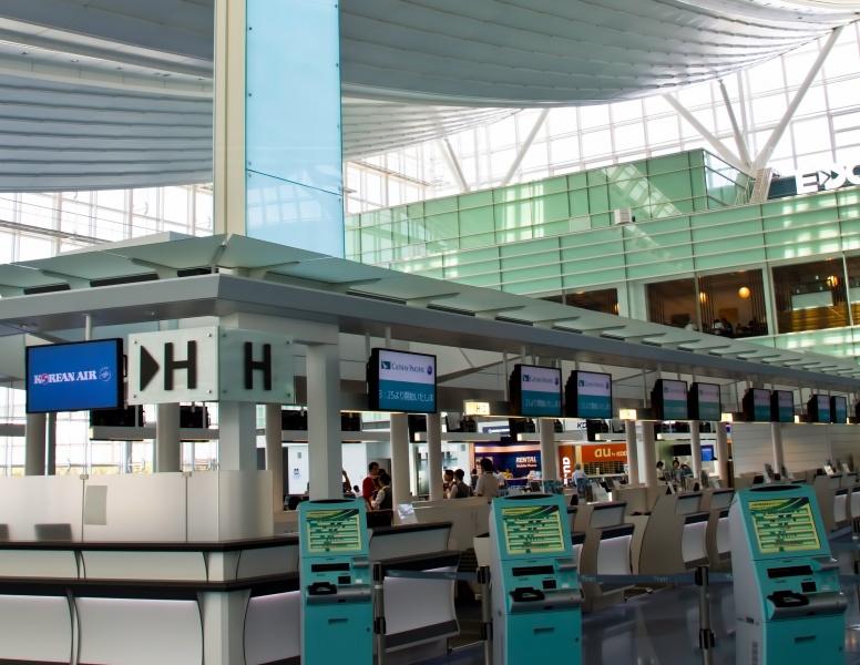 羽田空港の国際線ターミナル