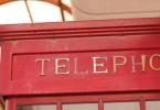 ちょっとだけレトロな電話ボックス