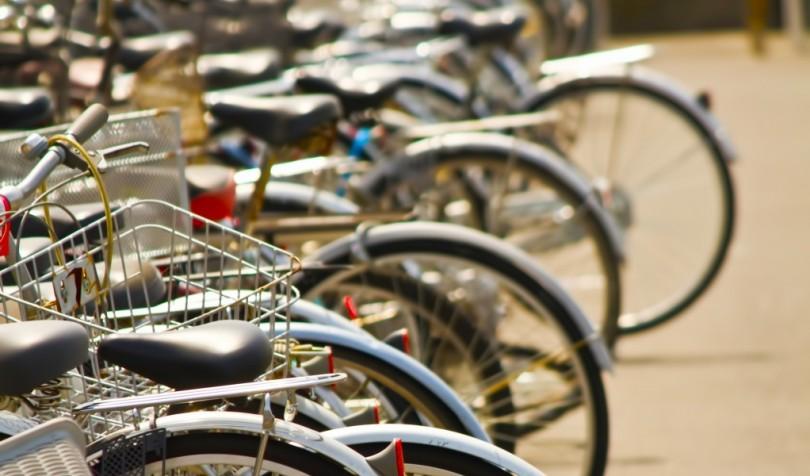 放置や違法駐輪の自転車