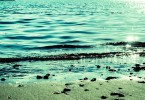 宇佐湾の浜辺