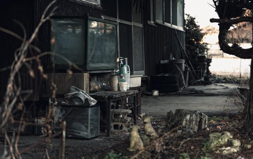 怖い雰囲気の廃屋