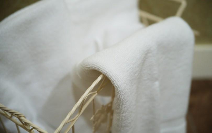 鼻づまりに効果的な温かいタオル