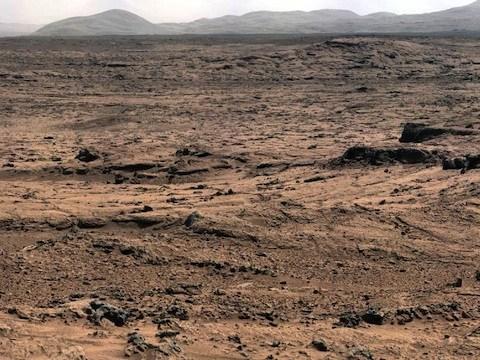 火星写真キュリオシティ