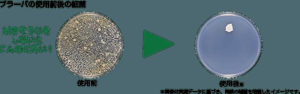 フラーバの雑菌除去イメージ