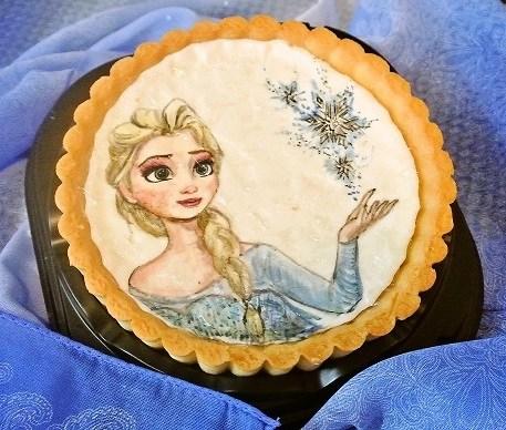 オブラートアートケーキ