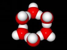 氷の分子構造1