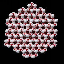 氷の分子構造2